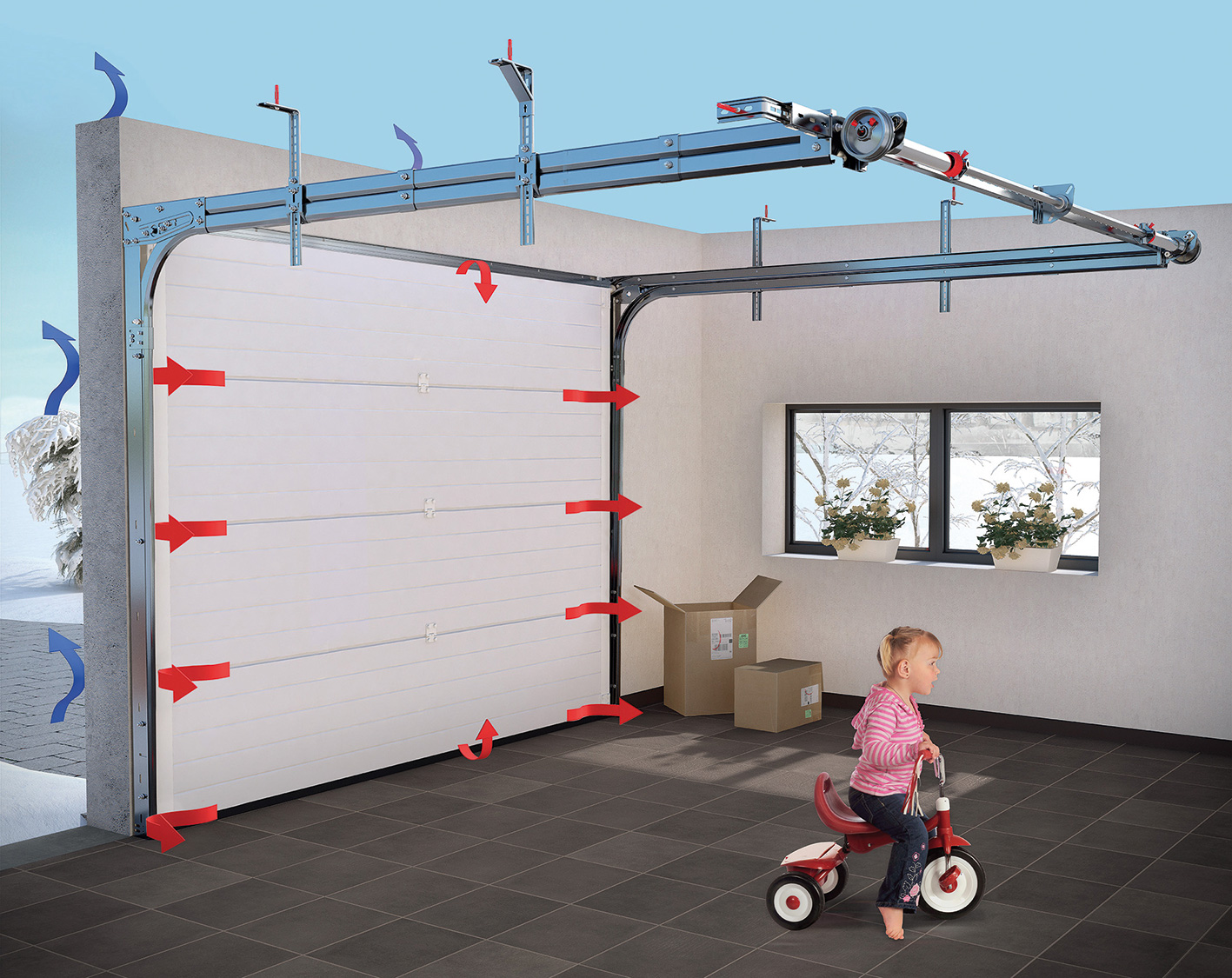 Innovation kit thermo pour une isolation renforc e for Porte de garage fame