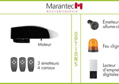 Motorisation et accessoires Marantec