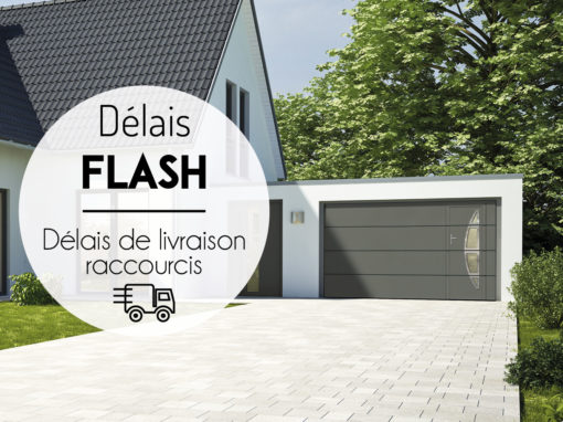 Programme « Délais FLASH » : profitez de délais de livraison raccourcis !